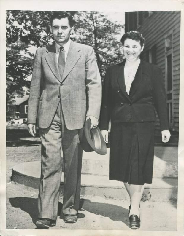 1943. Посол Советского Союза Андрей Громыко со своей женой в Мэриленде