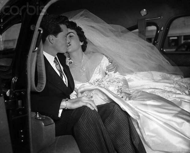 Первая свадьба Элизабет Тейлор (18 фотографий), photo:18