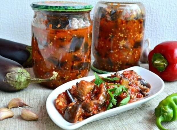 Острый салат на зиму Манжо. Можно подавать как закуску к рыбным и мясным блюдам 2
