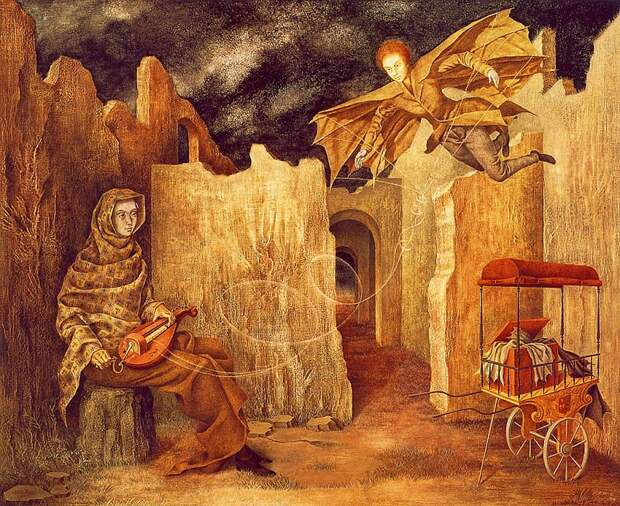 Гений сюрреализма Ремедиос Варо: погоня засчастьем изЕвропы вМексику