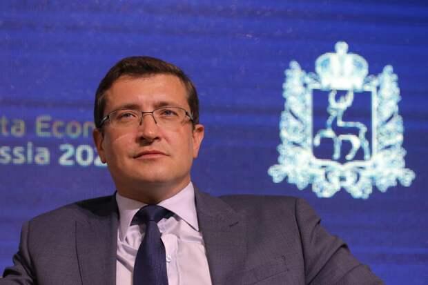 Поздравление губернатора Нижегородской области Глеба Никитина сДнем космонавтики