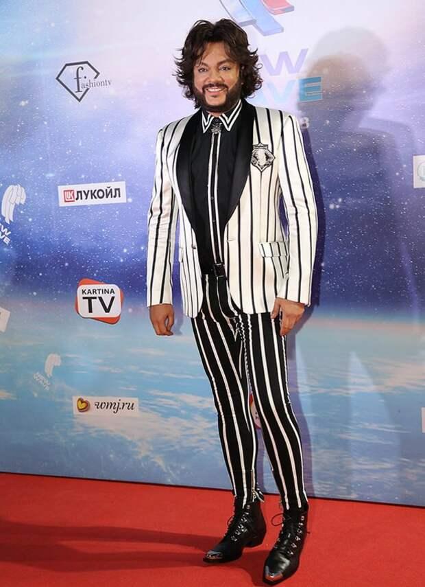 «Забыл надеть штаны»: Киркоров вышел на сцену в странном наряде