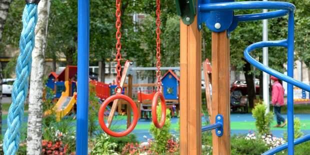 В Осташковском проезде привели в порядок детскую площадку – «Жилищник»