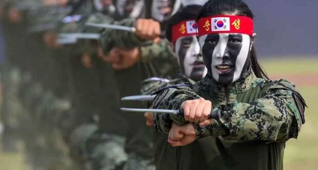 Солдаты Южной Кореи
