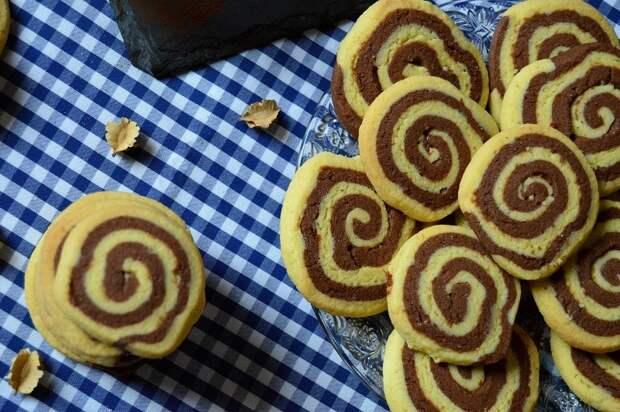 Печенье «Полосатая спираль» от Николы Радишича