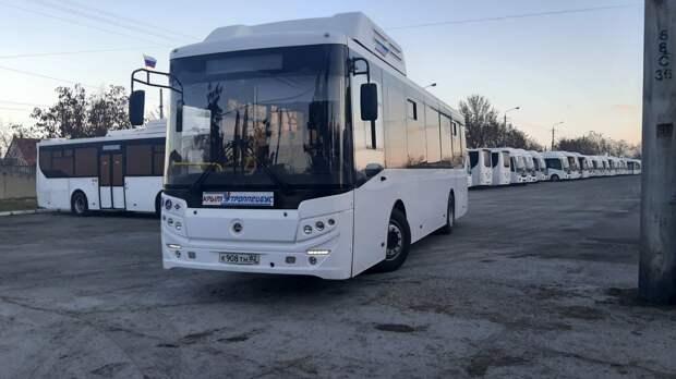 Новые автобусы вышли на забытый богом маршрут в Симферополе