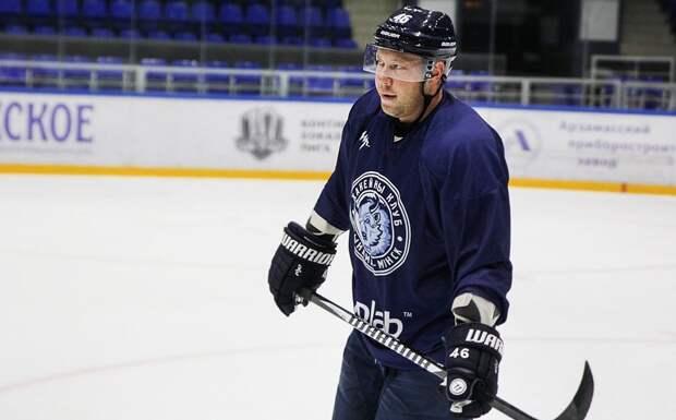 Бывший игрок «Нефтехимика» Костицын перешел в чешский клуб «Динамо» из Пардубице