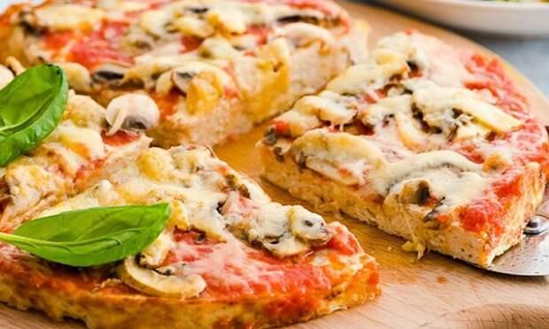 Вкуснейшая пицца без теста