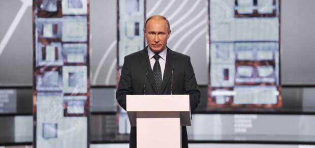 Путин объявил о донастройке налогового законодательства