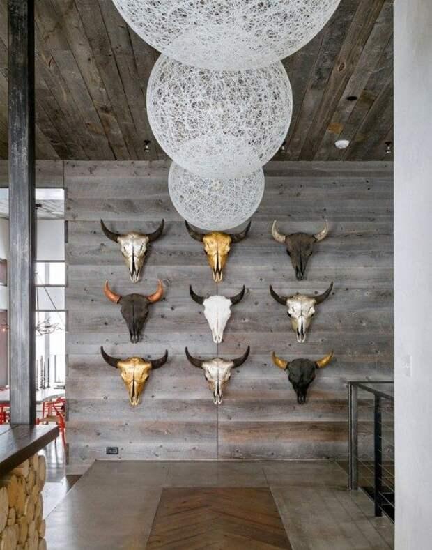 Современный настенный декор для дома