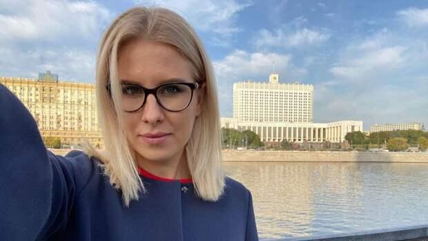 Московские полицейские задержали Соболь во время поездки в такси