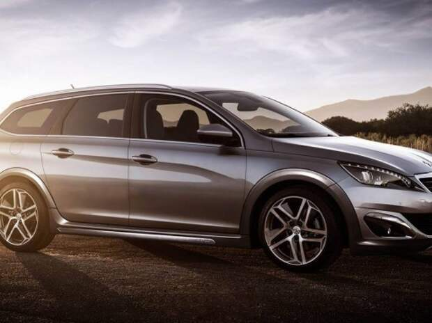Визуализируем универсал повышенной проходимости Peugeot 308