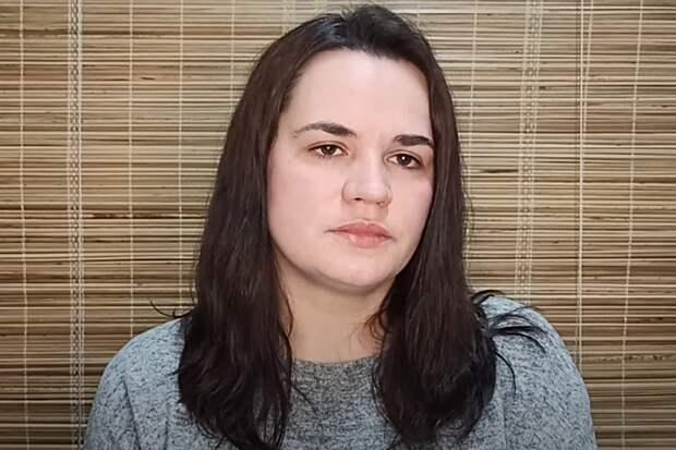 Тихановская призвала белорусов отказаться от протестов из-за страха за свою семью