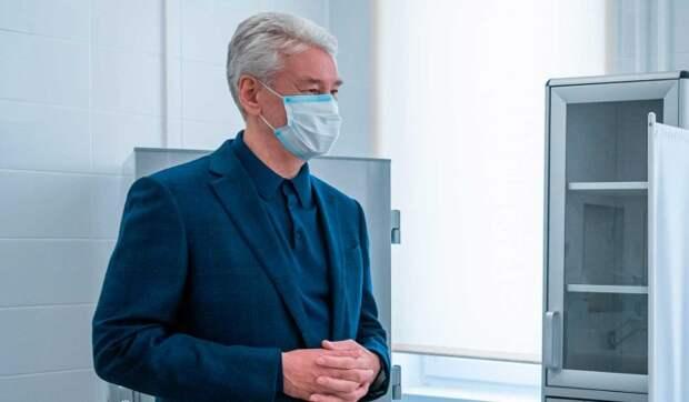 Собянин рассказал о новых ограничениях из-за коронавируса в Москве