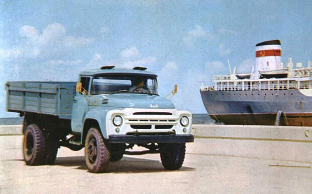 Мотор V12 с автоматом — были и такие грузовики в СССР!