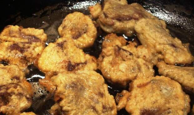 Куриной печени в кляр