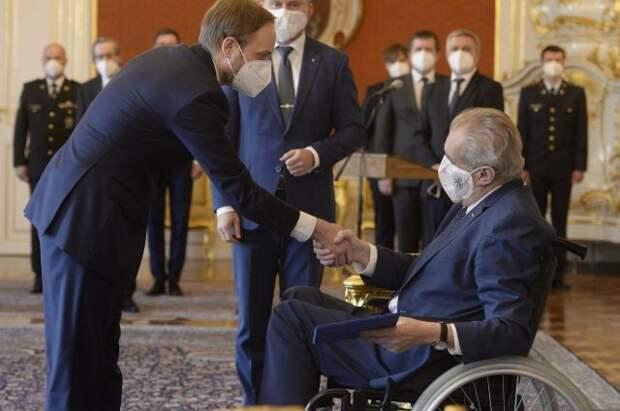 Президент Чехии назначил нового министра иностранных дел
