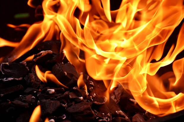 Пожар, Пламени, Углерода, Гореть, Горячие, Настроение