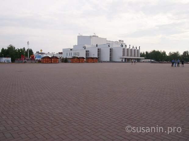 Парки Ижевска займутся развитием Центральной площади города