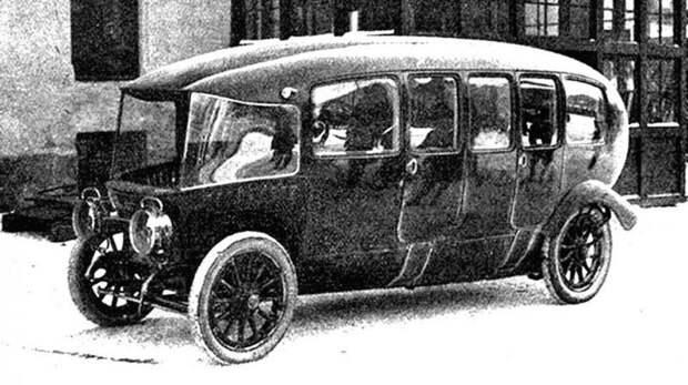 Французская многоместная 75-сильная машина Charron вагонного типа. 1913 год авто, автодизайн, автомобили, дизайн, интересные автомобили, минивэн, ретро авто