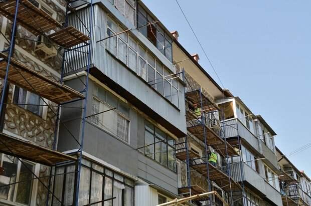 На Кубани отремонтируют 800 многоэтажек