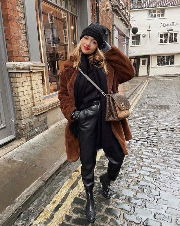 Как носить экошубу в этом сезоне, чтобы выглядеть стильно и свежо