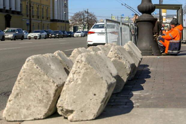 Как центр Петербурга выглядит за сутки до несогласованного митинга в поддержку Навального. 7 фото