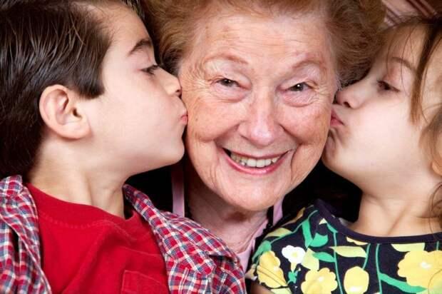 Бабуля Лиза!