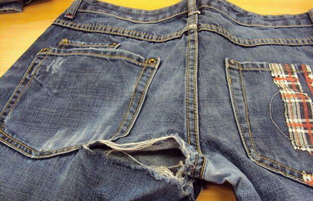 Верный способ, как решить проблему, если протираются джинсы между ног