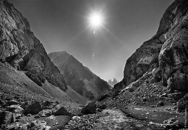 bnwmountains09 Черно белые фотографии гор