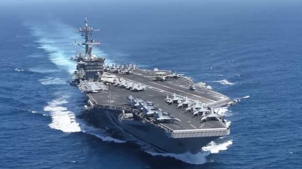 США отправили авианосную группу в Южно-Китайское море