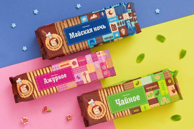 На Урале обновили упаковку печенья от «Артели Петра Сладкина»