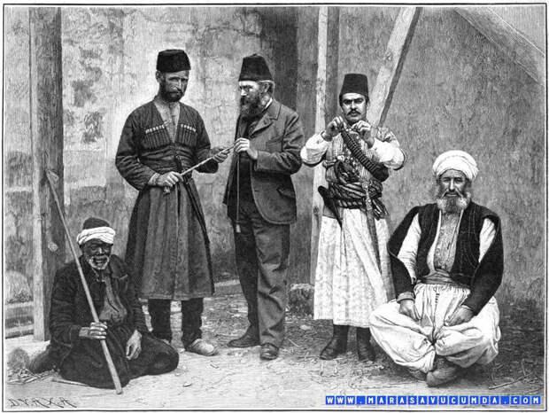 Черкесов считали самыми надежными воинами Османской империи