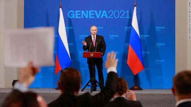 Путин получил от Байдена то, что хотел: CNN