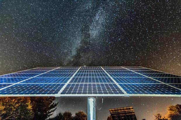 Как работают Солнечные панели в пасмурные дни и ночью?
