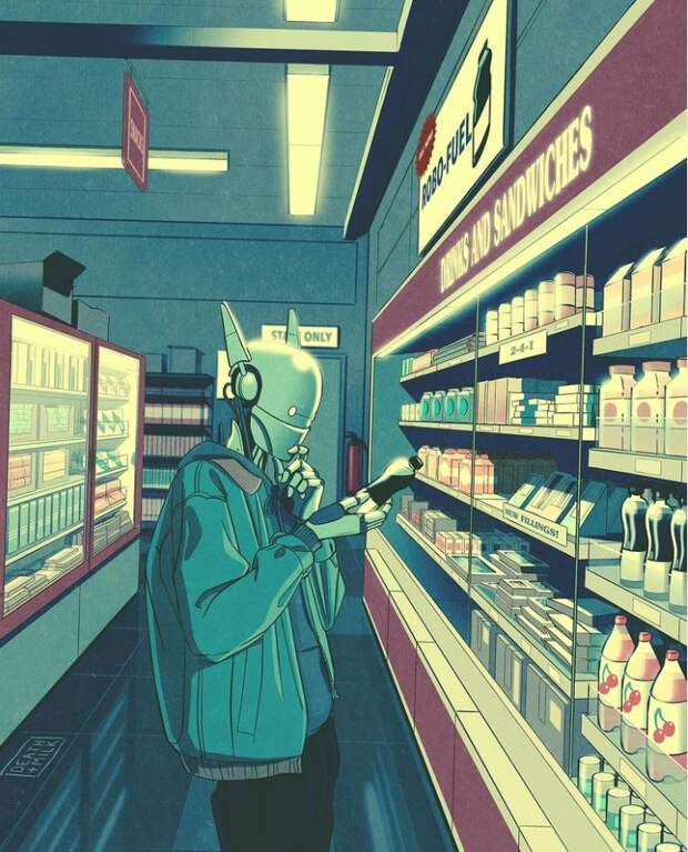 киберпанк-иллюстрации от Death & Milk (6).JPG