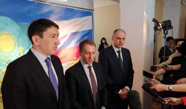 Губернатор Денис Паслер пригласил в Оренбуржье туристов из Казахстана