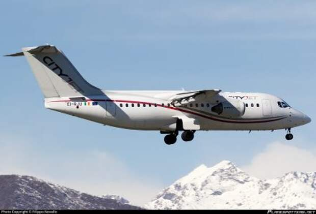 BAe Avro RJ85 авиакомпании CityJe