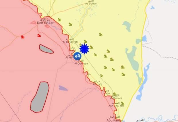 Сообщения из Сирии: Взрывы в районе военной базы США на востоке страны и подрыв колонны турецких войск в Идлибе