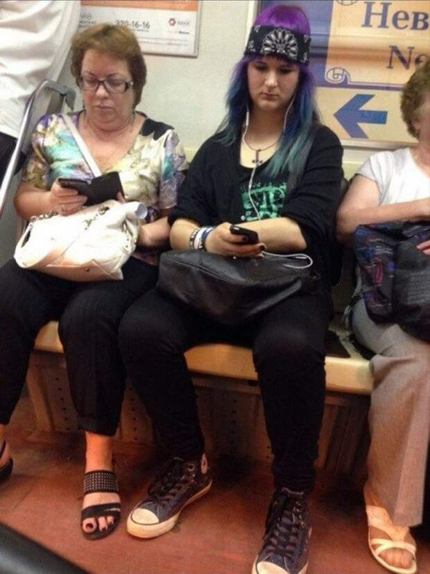 Самые странные пассажиры подземки