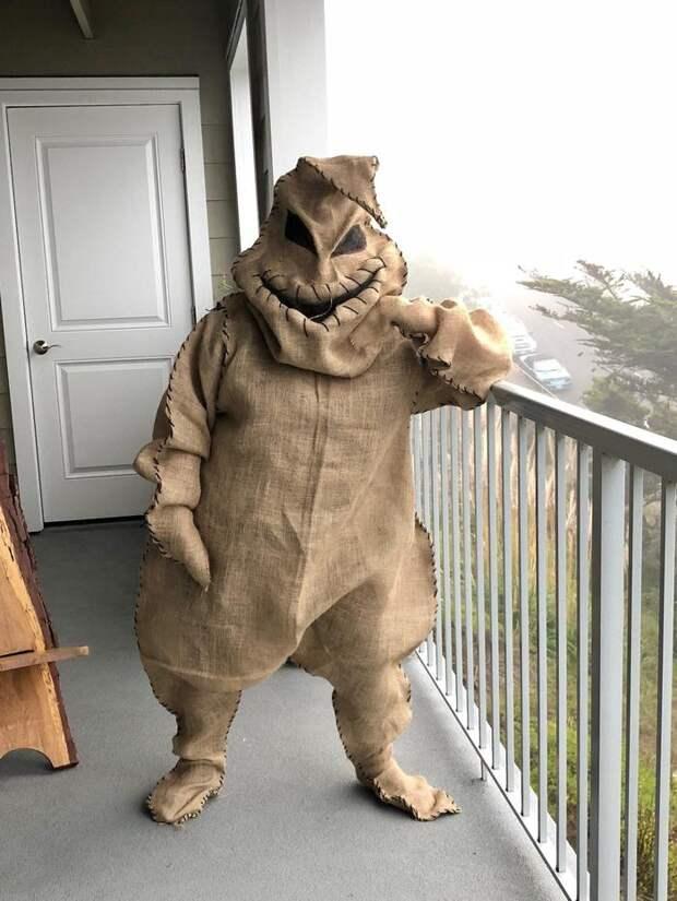 Маскарадный костюм ... мешка?