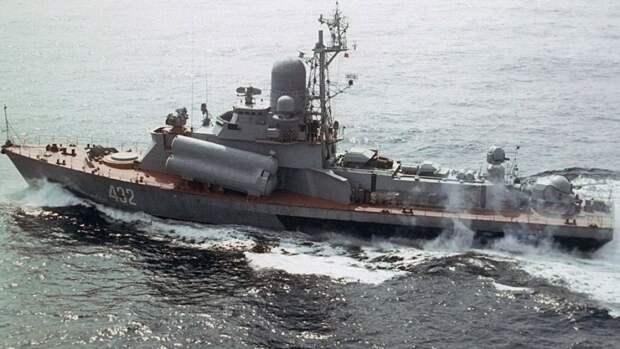Ракетные катера Тихоокеанского флота на учении отработали уничтожение условного противника