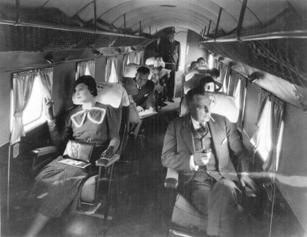 8 фото о том, как круто было раньше летать первым классом