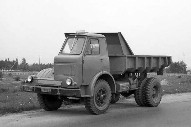 Экспериментальный МАЗ-510. 1962 год СССР, автомобили, советская техника, советские машины
