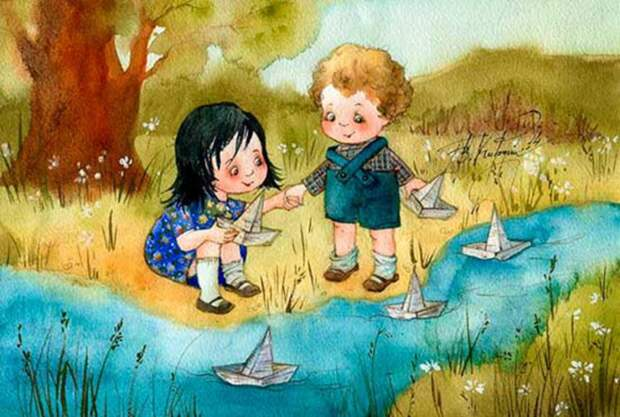 Весёлые картинки Виктории Кирдий, или как ненадолго вернуться в беззаботное детство