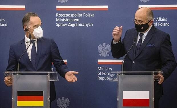 Разногласия Германии и Польши углубляются