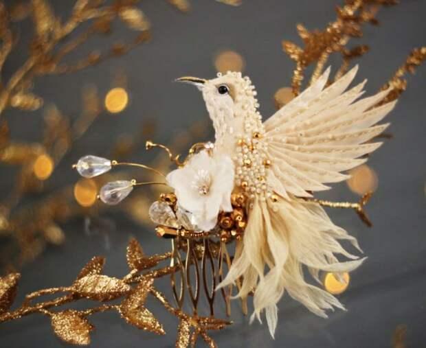 Волшебные творения из шёлка, бисера, пайеток и страз