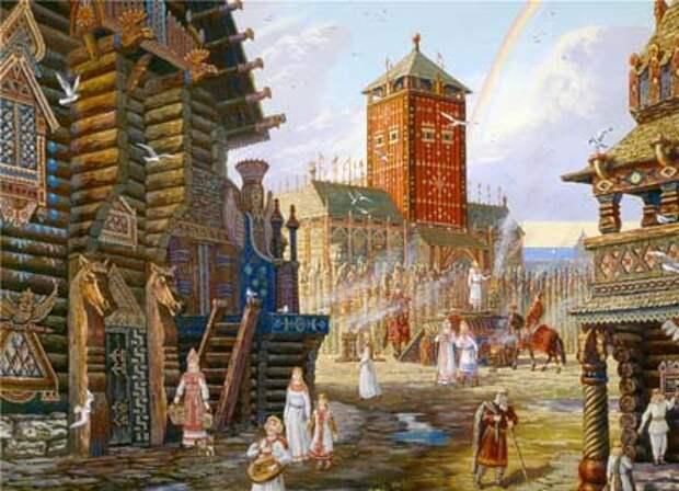 Остров Русов. Храм Арконы.