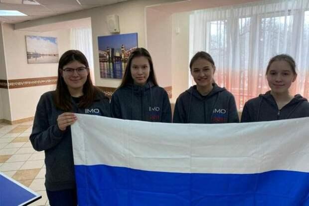 Сборная России завоевала 4 золотые медали наXЕвропейской девичьей математической олимпиаде