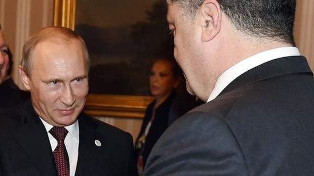 Порошенко обратился к Путину по поводу Крыма и Донбасса